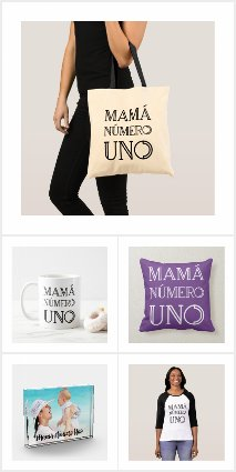 Mamá Número Uno Mother's Day Gifts