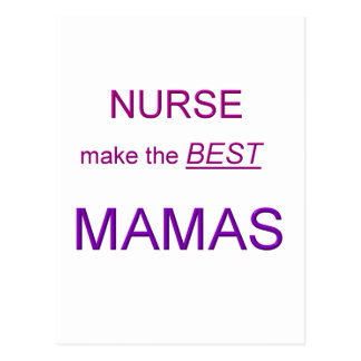 Mama Nurse Postcard