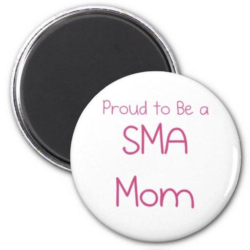Mamá o mamá de SMA Imán Para Frigorifico
