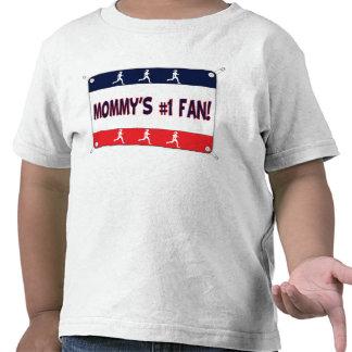 Mamá o papá 1 fan camiseta
