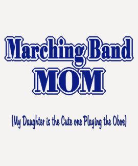 Mama Oboe de la banda Camiseta