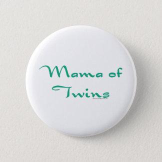 Mama of Twins Pinback Button
