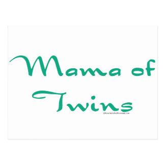 Mama of Twins Postcard