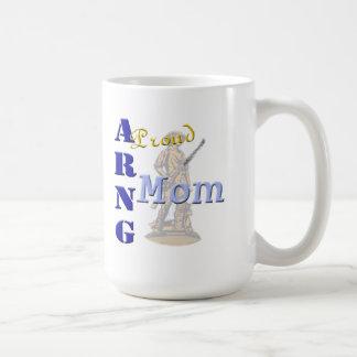 Mamá orgullosa de ARNG Taza De Café