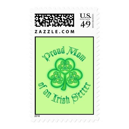 Mamá orgullosa de Irish Setter Envio