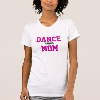 Mamá orgullosa de la danza camiseta