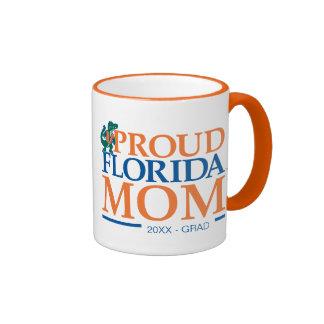 Mamá orgullosa de la Florida Taza A Dos Colores