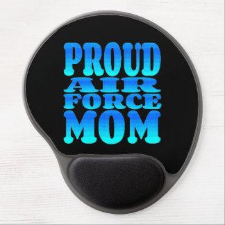 Mamá orgullosa de la fuerza aérea alfombrilla con gel