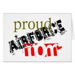 mamá orgullosa de la fuerza aérea felicitaciones
