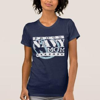 Mamá orgullosa de la marina de guerra camisetas