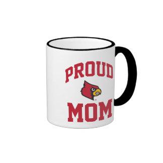 Mamá orgullosa de Louisville Taza De Dos Colores