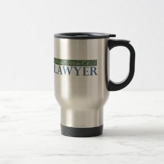 Mamá orgullosa de un abogado taza de café