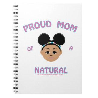 Mamá orgullosa de un natural - regalos naturales notebook