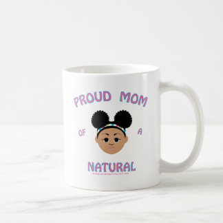 Mamá orgullosa de un natural - regalos naturales taza de café