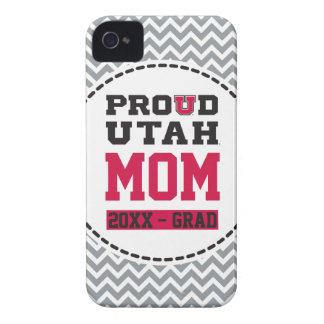 Mamá orgullosa de Utah - año del graduado Case-Mate iPhone 4 Funda