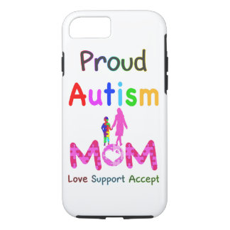 Mamá orgullosa del autismo funda iPhone 7