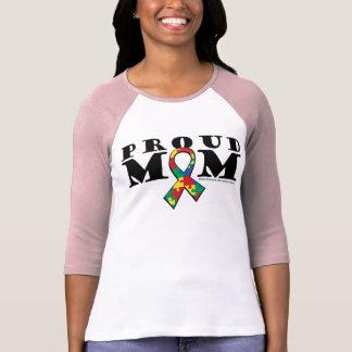 Mamá orgullosa del autismo poleras