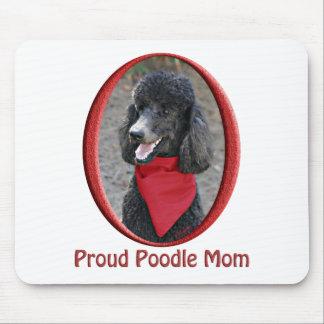 Mamá orgullosa del caniche mousepad