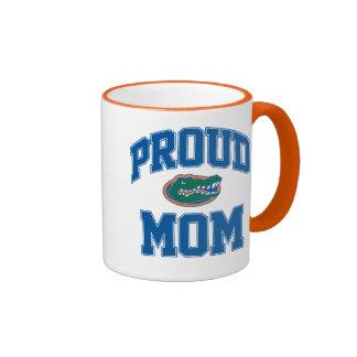 Mamá orgullosa del cocodrilo taza de café