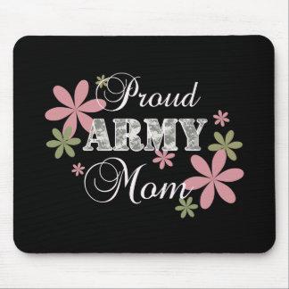 Mamá orgullosa del ejército [la Florida c] Alfombrillas De Ratón