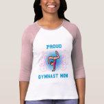 Mamá orgullosa del gimnasta camiseta