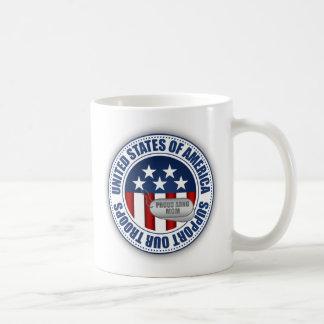 Mamá orgullosa del Guardia Nacional del ejército Taza De Café