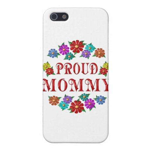 MAMÁ ORGULLOSA iPhone 5 FUNDAS