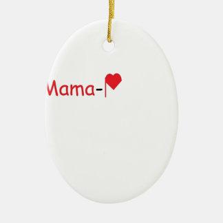 Mama-P Logo Products Ceramic Ornament