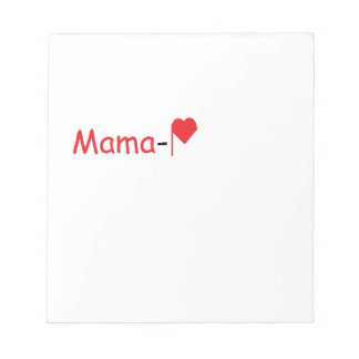 Mama-P Logo Products Note Pads