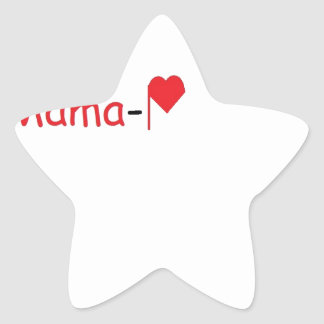 Mama-P Logo Products Star Stickers