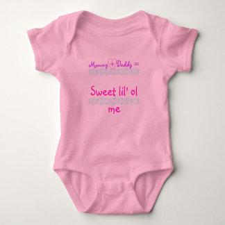 Mamá + Papá =, ol dulce del lil yo, Remera