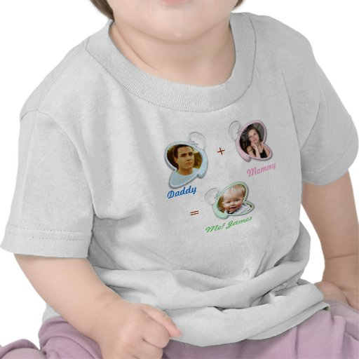 Mamá, papá y yo camiseta