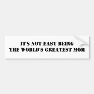 Mamá Pegatina Para Auto