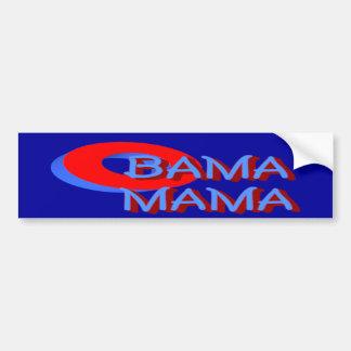 Mamá pegatina para el parachoques de O Bama Etiqueta De Parachoque