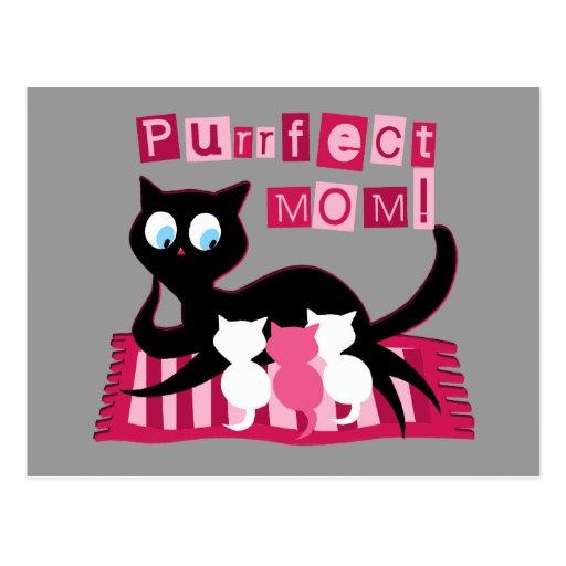 Mamá perfecta tarjetas postales