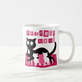 Mamá perfecta taza de café