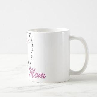 Mamá persa tazas de café