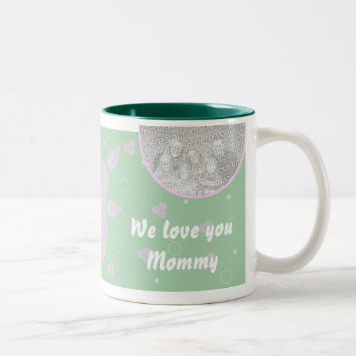 Mamá personalizada de la taza de la foto