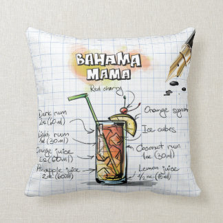 Mamá Pillow de Bahama Cojín