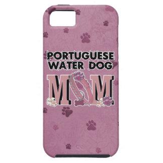 MAMÁ portuguesa del perro de agua iPhone 5 Protectores
