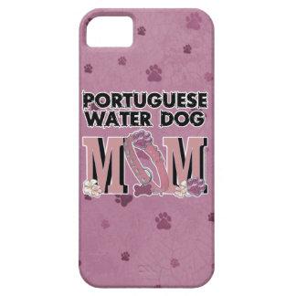 MAMÁ portuguesa del perro de agua iPhone 5 Funda