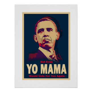 Mamá Poster de Obama Yo