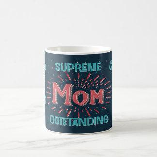 Mamá - primera clase - suprema - excepcional taza