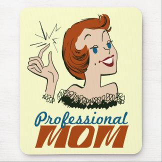 Mamá profesional tapetes de ratón