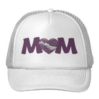 MAMÁ púrpura Gorro