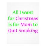 ¡Mamá que fuma abandonada! Membrete A Diseño