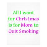 ¡Mamá que fuma abandonada! Tarjeta Publicitaria