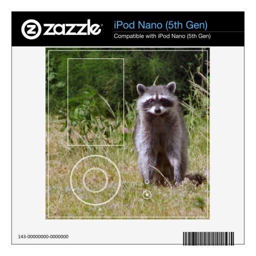 Mamá Raccoon iPod Nano 5G Skin