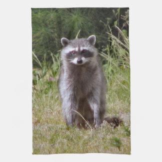 Mama Raccoon Hand Towels