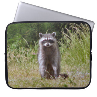 Mama Raccoon Laptop Sleeve